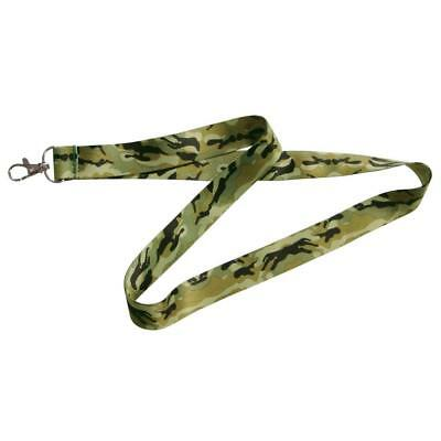 The Hillman Group 711480 Green Camouflage Lanyard