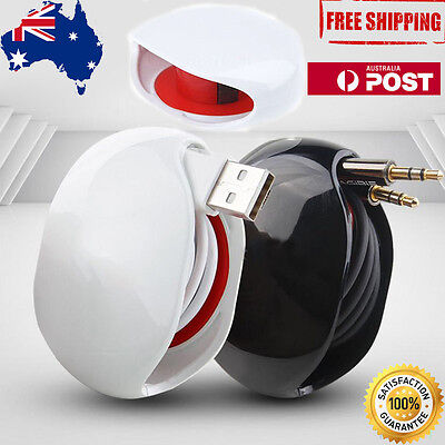 Automatic Headphone Earphone USB Cable Cord Wire Line Organizer Winder Wrap