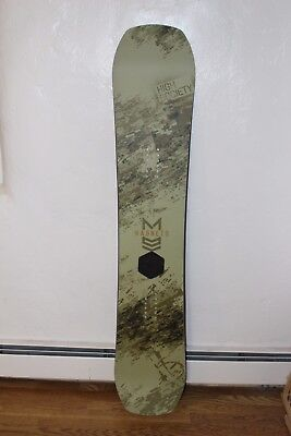 High Society Freeride Co. Magneto Snowboard 155cm Freeride All Mountain