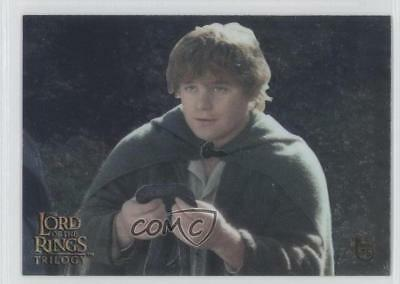 2004 Topps Chrome The Lord of Rings Trilogy #29 Gifts from the Elves Card 0l1