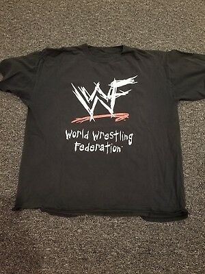 Vintage WWF Attitude Era Wrestling xl Shirt.  World Wrestling Federation.  Wwe