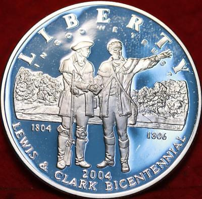 Uncirculated 2004 Lewis and Clark Comm Dollar Proof Free Shipping