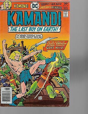 kamandi the last boy on earth  2 comic lot  vg condition  FREE SHIPPING