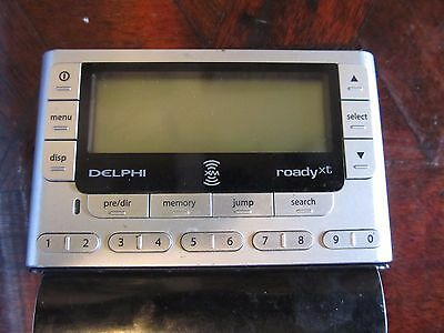 Delphi Roady XT XM Radio, receiver and accs  missing power cords FREE SHIPPING