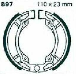 EBC Brake Shoes Brake Shoe 897 Rear Pegasus Corona 25 Sport