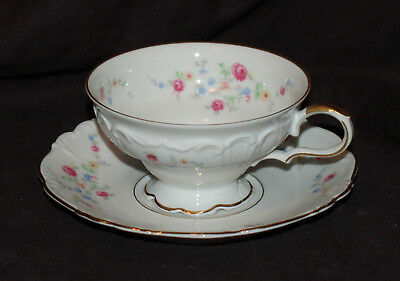One Edelstein Brighton Cup and Saucer Set  Good Shape