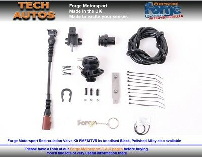 Forge Motorsport FMFSITVR Recirc Valve Kit VW Golf Mk5 Mk6 Turbo's