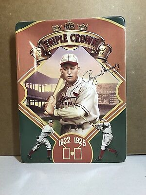 Bradford Exchange Plate Rogers Hornsby Triple Crown 1922 1925 Test Proof No Box
