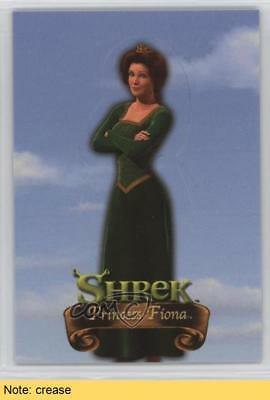 2001 Dart Shrek Stand-Up Characters #S-3 Princess Fiona READ Non-Sports Card 3l2