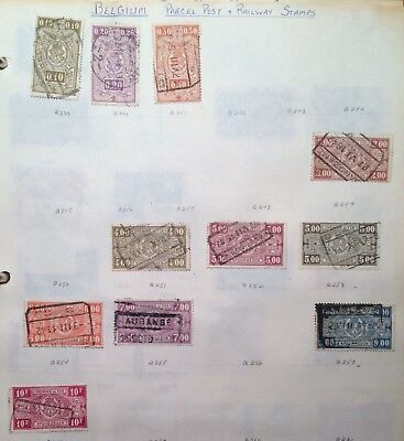 postage stamps Belgium  lot of 11  old     O