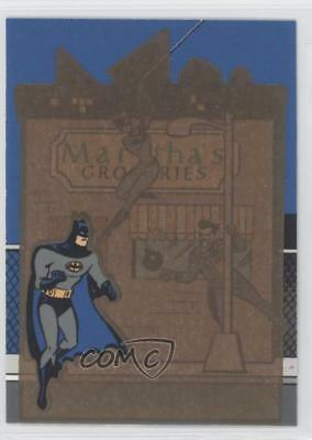 1995 Skybox The Adventures of Batman & Robin #T1 Martha's Groceries Card 1l2