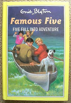 Five Fall into Adventure by Enid Blyton, Famous Five #9, HC