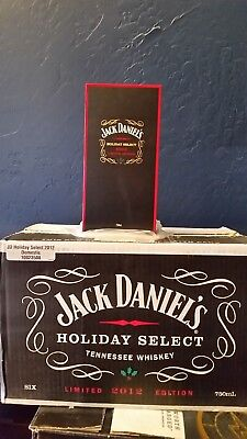 Jack Daniels Rare Holiday select 2012 Mint with Box fresh from a Case
