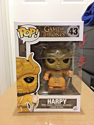 Funko Pop! Game Of Thrones Harpy #43 Vinyl Figure Vaulted Dmg Box