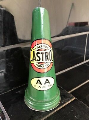 Wakefield Castrol AA Reproduction Tin Oil Bottle Top