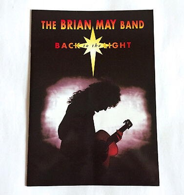 THE BRIAN MAY BAND Back To The Light Tour 93 JAPAN TOUR BOOK Queen Cozy Powell