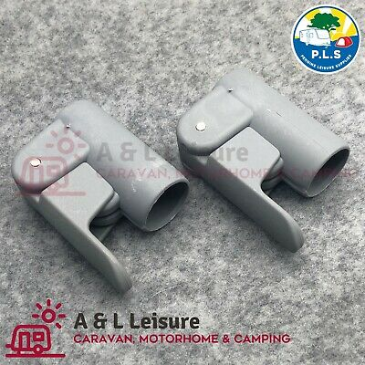 Awning / Tent Pole Adjuster Clamp  -  22mm - 25mm x 2 ClampS  -   6999190