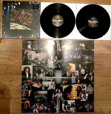 KISS MTV Unplugged 180g Audiophile Double Vinyl LP 2014 + Poster NM w/Download