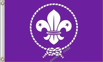WOSM The Boy Scouts of America flag 3X5FT  Free shiping