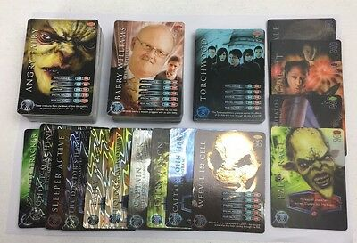 2006 Torchwood Trading Cards Complete Set Including Rare Holo Cards