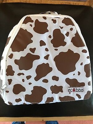 Kids Cow Pattern Lunch Bag- Eco Boo Brand