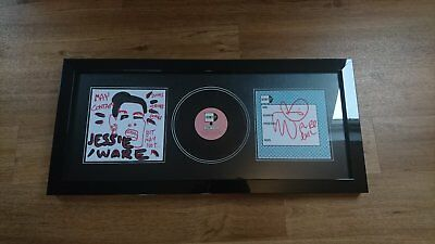 """JESSIE WARE - Still Love Me with PURE EVIL Sleeve Art 1/1 Framed Rare 7"""" Inch"""