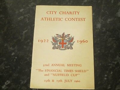1960 32nd Annual Meeting - The Financial Times Shield & Nuffield Cup @ London
