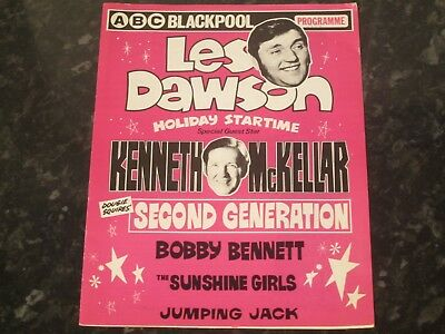 Holiday Startime Programme (Les Dawson) @ ABC Blackpool - Dated 1970's