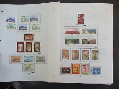 ESTATE: Australia decimal collection 1990 - 2000 on pages Great Item  (3286)