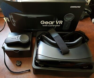 SAMSUNG Gear VR 2017 with Contr Galaxy S8 S8+ S7 S6 Excellen