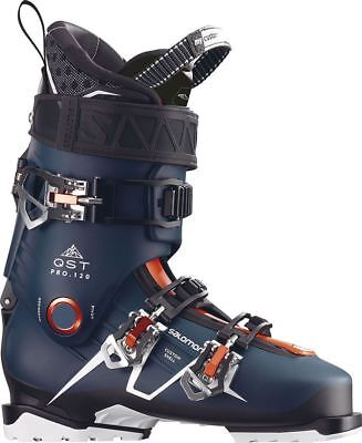 Salomon QST Pro 120 2018 Ski Boots Petrol Blue/Black/Orange