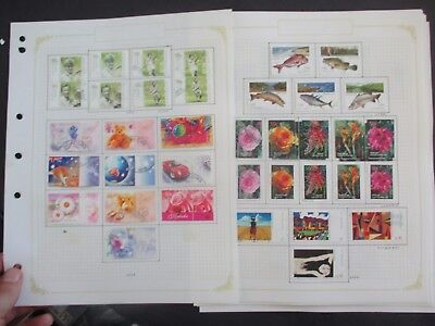 ESTATE: Australia decimal collection 2003 - 2004 on pages Great Item  (3284)