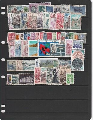 FRANCE - Small collection of 63 Fine used stamps