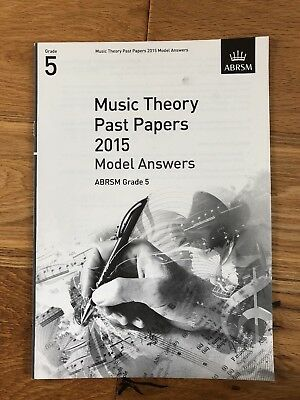ABRSM Grade 5 Music Theory Past Papers 2015 Model Answers