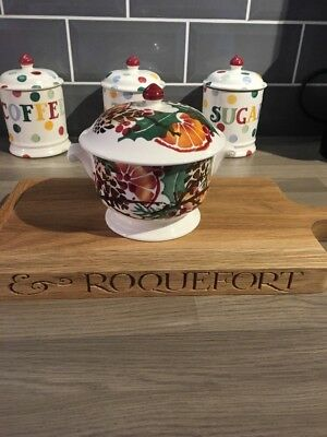 EMMA BRIDGEWATER HOLLY WREATH MINI TUREEN, 1st QUALITY