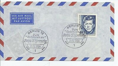 Germany 1964 J F Kennedy cover
