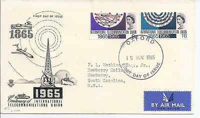 1965 ITU Illustrayed FDC
