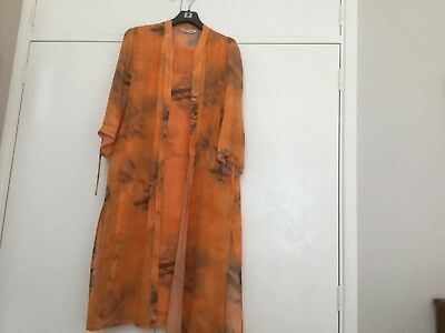 Windsmoor 2 piece dress and long line jacket size 16.