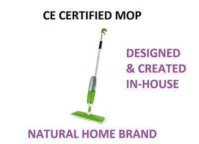 Spray Mop Uk Ce Certified For Kitchen Wood Marble Floor Microfibre 350 Ml