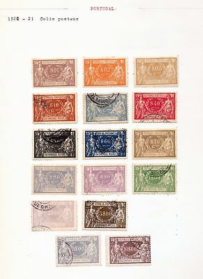 PORTUGAL Colis Postaux Timbres Taxe Early M&U Appx 50 DAB 135