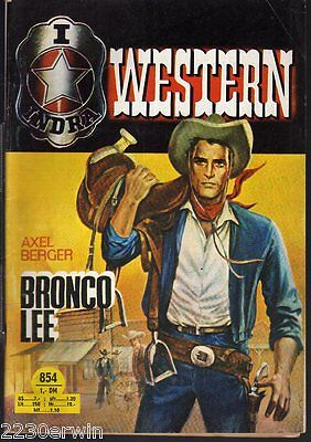 INDRA (RODEO) WESTERN 854 / Axel Berger / (1970-1973 Indra-Verlag)