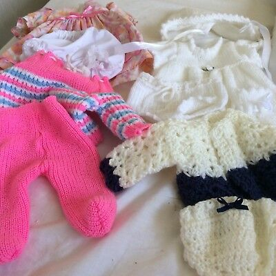 Used tiny tears clothes Lovely outfits one original too. with new pantys