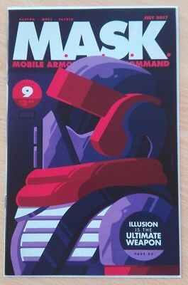 Mask #9 - Tom Whalen Variant Cover - Idw