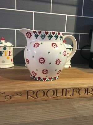 Emma Bridgwater Christmas Joy 1.5 Pint Jug, Great Condition