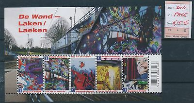 LH13058 Belgium 2011 graffiti art sheet MNH face value 6,15 EUR
