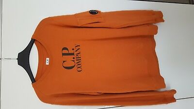 Fabulous Boys Orange CP Company Jumper Age 14