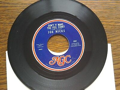 Northern Soul. Joe Hicks. Dont it make you feel funky.