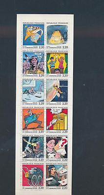 XA79621 France cartoons comics XXL sheet MNH