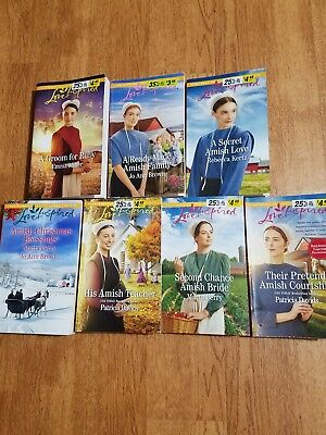 lot of love inspired Amish romance books