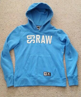 G Star Raw hoodie blue size 12 / M good clean used condition